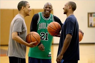 Barack Obama, Reggie Love ve Chris Duhon