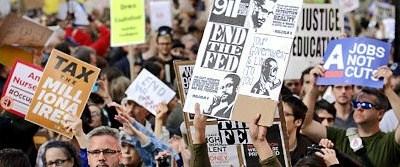 'Occupy Wall Street' eylemleri marka oluyor