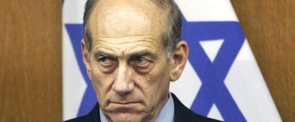 Olmert resmen suçlanıyor