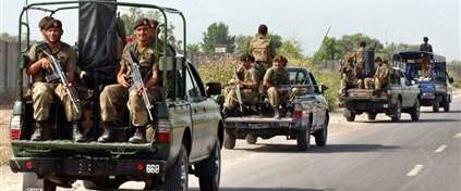Pakistan Svat Vadisi'ne asker gönderdi