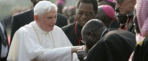 Papa'dan Hristiyanlara Afrika çağrısı