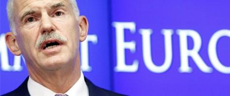 Papandreu: Teşekkürler Kemal Derviş