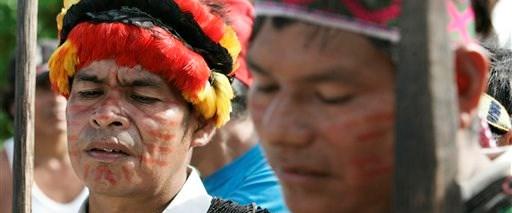 Peru'da Amazon yerlileri kazandı