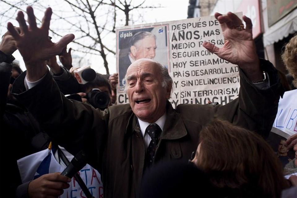 Pinochet belgeseli savaş çıkardı