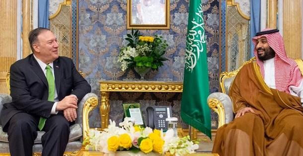 Pompeo, bin Selman ile İran'ı görüştü: İran'ın tehditkar davranışı tolere edilmeyecek