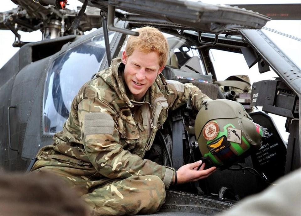 Prens Harry Taliban vurmuş
