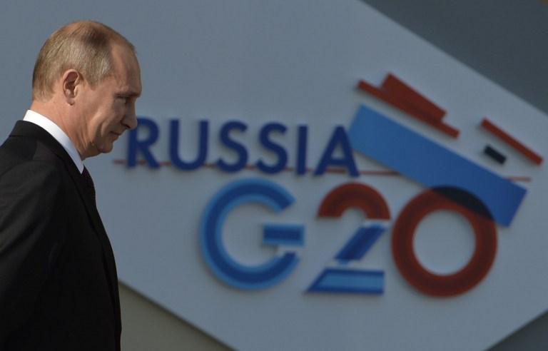 Putin G-20'ye ev sahipliği yapıyor