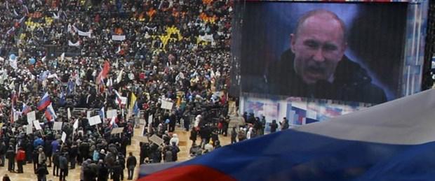 Putin'den 130 bin kişiye yemek
