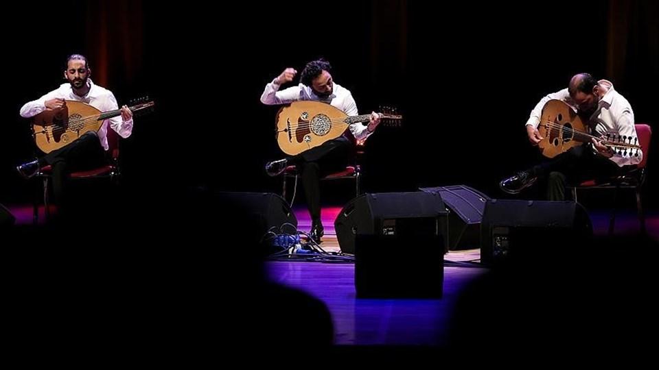 """Filistinli """"Le Trio Joubran"""" müzik grubu ABD Başkanı Trump'ın Kudüs kararına tepki göstermek için bir şarkı besteledi."""