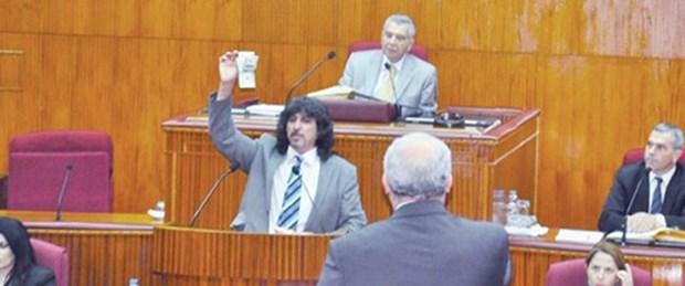 Rüşvet parasıyla Meclis kürsüsünde