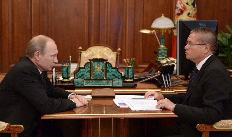 Putinve Alexei Ulyukayev