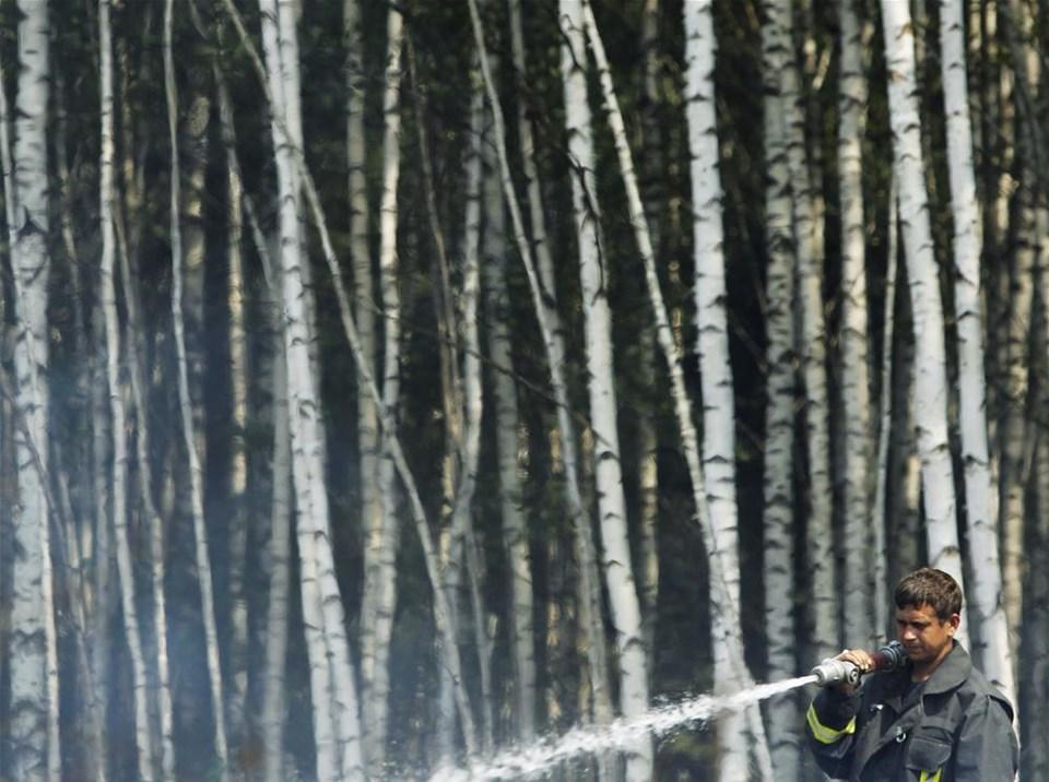 Rusya yanıyor