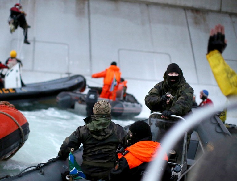 Rusya'dan Greenpeace müdahalesi