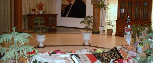 Saddam'ın mezarı türbe oldu!