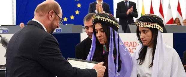 sakharov ödülü ezidi avrupa parlamentosu131216.jpg