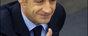 Sarkozy Avrupa Parlamentosu'na veda etti