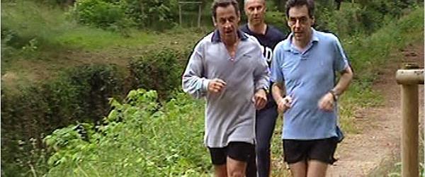 Sarkozy spor yaparken fenalaştı