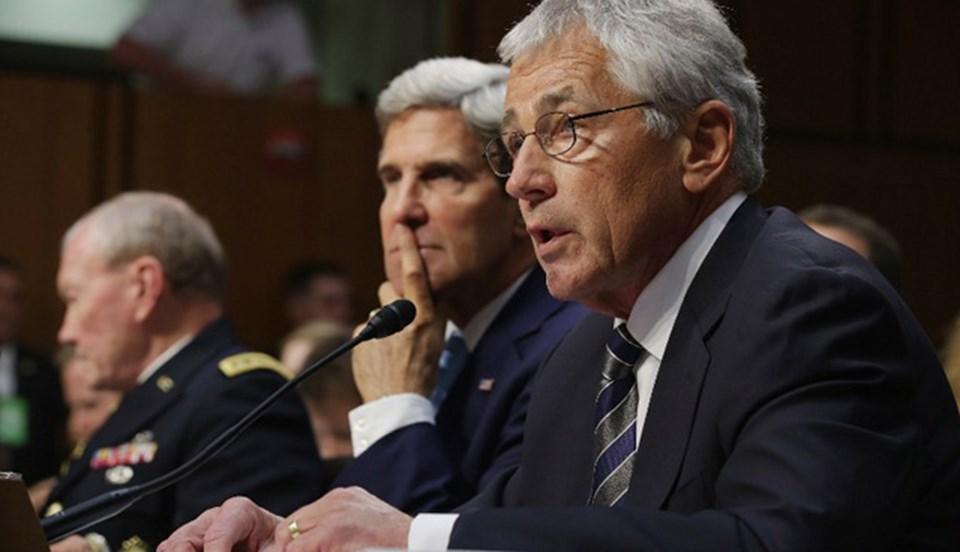 ABD Dışişleri Bakanı John Kerry, Savunma Bakanı Chuck Hagel ve Genelkurmay Başkanı Martin Dempsey, Suriye'ye askeri müdahaleyi savundu.