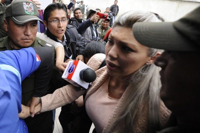 Gabriela Zapata'nın ortak çocuklarıyla ilgili eski sevgilisi Evo Morales'e yalan söylediği iddia edildi.