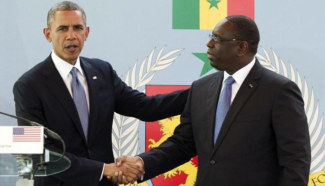 Obama, Afrika turunun ilk ayağı Senegal'de.