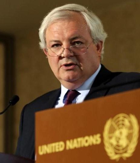 BMİnsani Yardım Şefi Stephen O'Brien