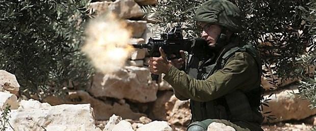 israil asker gerçek mermi150518.jpg