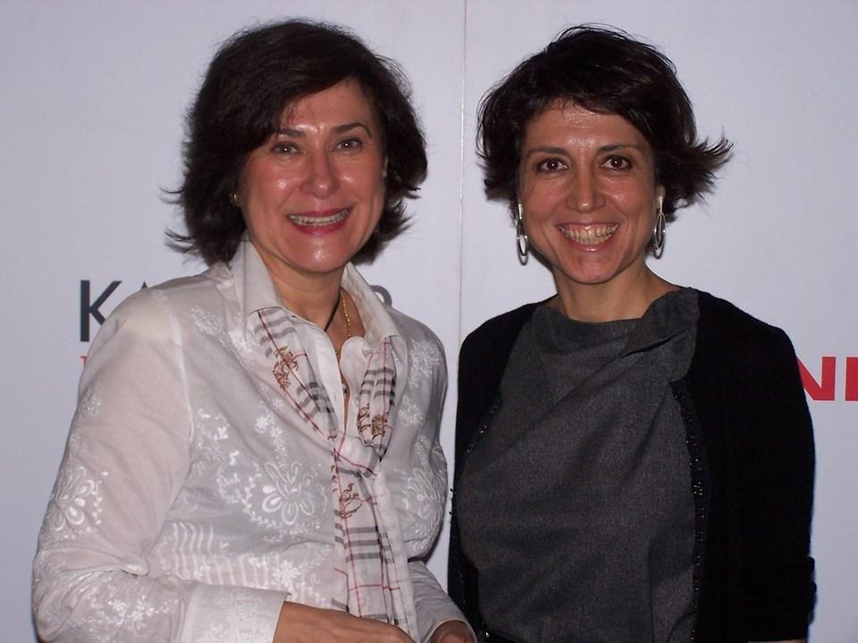 Alexandra Cas Granje ve KAGİDER Başkanı Gülseren Onanç.