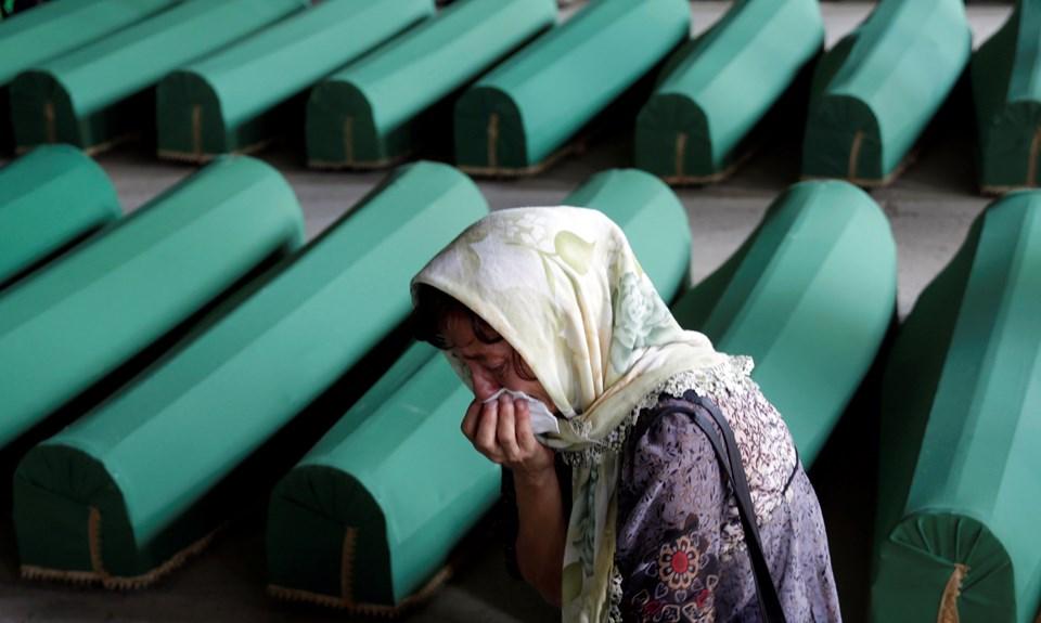 Srebrenitsa soykırımının 21'inci yıldönümü