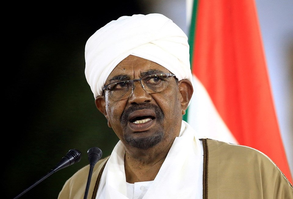 Sudan Devlet BaşkanıÖmer el-Beşir tutuklandı
