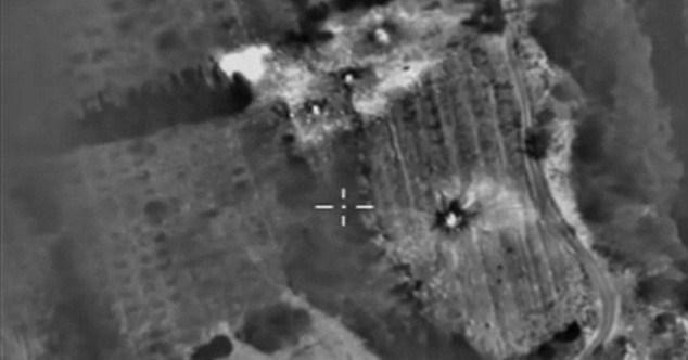 Rusya, Suriye'de son bir haftadır hava operasyonları düzenliyor.