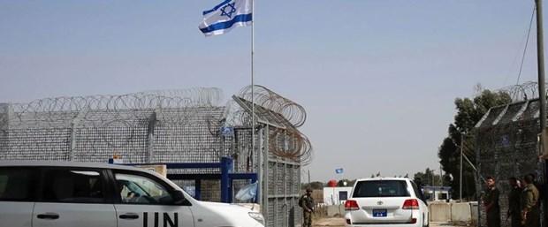 Suriye ile İsrail Golan Tepeleri'nde sınır kapısını açtı