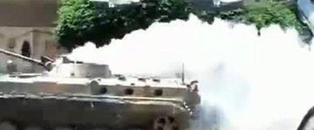 Suriye ordusu Hama ve Humus'a saldırdı