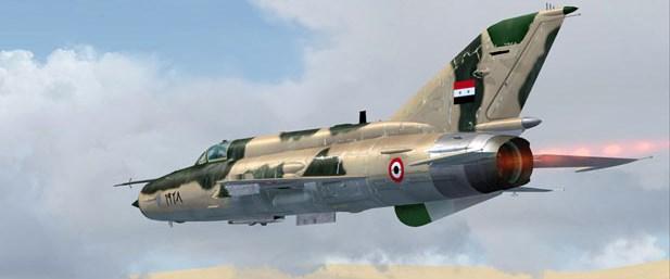 suriye mig21 savaş uçağı130316.jpg