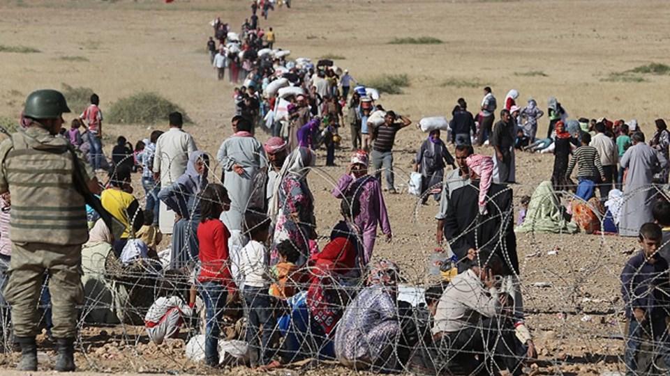 IŞİD'in son ilerlemesi sonrasıTürkiye'ye 3 bini aşkın mülteci sığındı