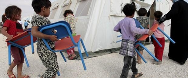 Suriye topraklarında ilk kamp