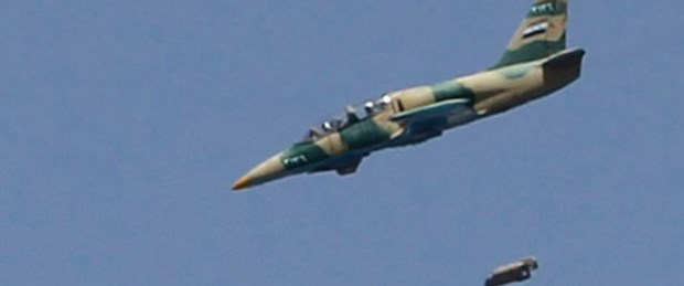 Suriye yine Türk sınırını bombaladı