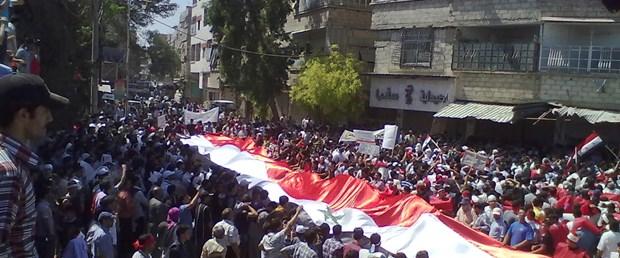 Suriye'de 'diyaloğa hayır' günü