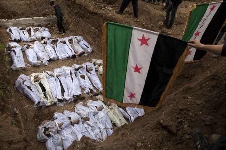 Suriye'de 'nehir' kurbanları