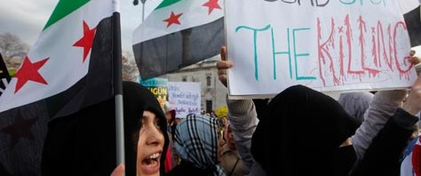 Suriye'de şiddetin gölgesinde seçim