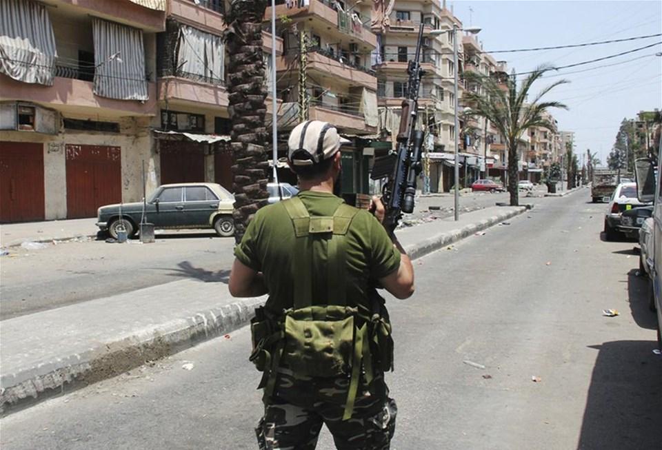 Suriye'deki şiddet Lübnan'a sıçradı