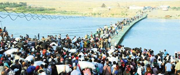 Suriye'den Irak'a Kürt göçü