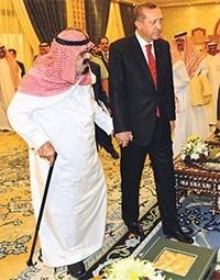Erdoğan'ın 2012 yılındaki Suudi Arabistan ziyaretinden