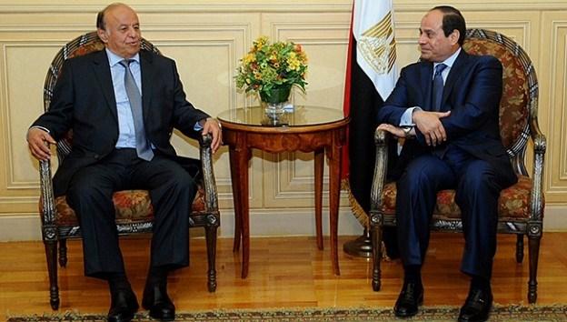 Yemen'e hava operasyonu sonrası Suudi Arabistan'a kaçan Hadi, Arap Birliği Zirvesi'ne katılmak üzere Mısır'a geçti.