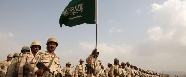Suudi askerler Bahreyn'de