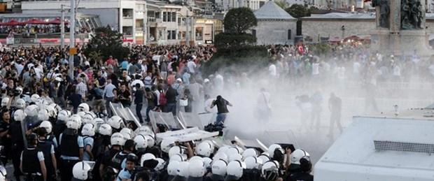 Taksim müdahalesi dünya basınında