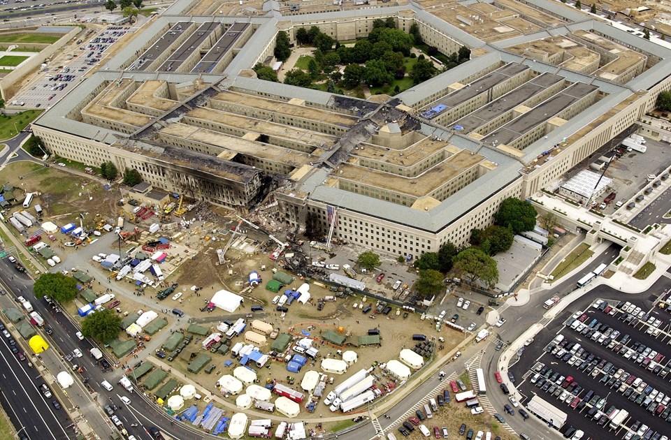 ABD Savunma Bakanlığı ve Genelkurmay Başkanlığı'nın bulunduğu Pentagon