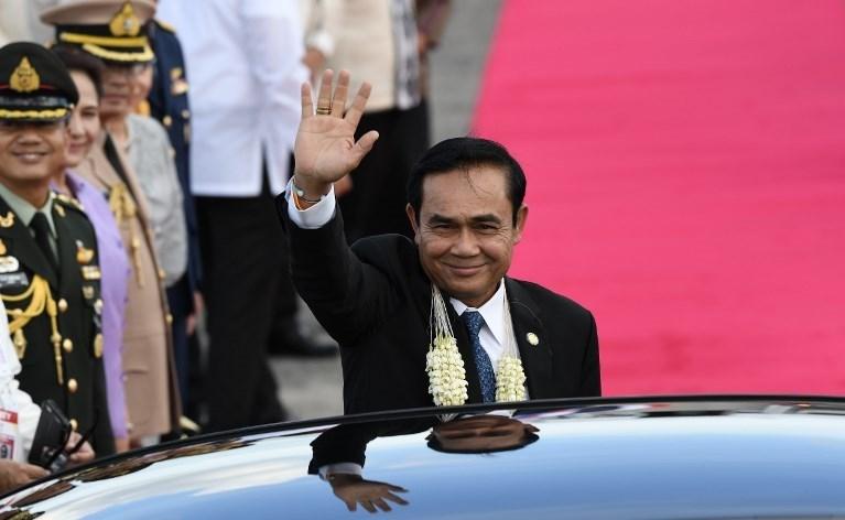 Tayland Başbakanı Prayut 2014'teki askeri darbe sonra iktidara gelmişti.