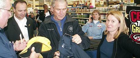 Teksaslılar Bush'u tanıyamadı
