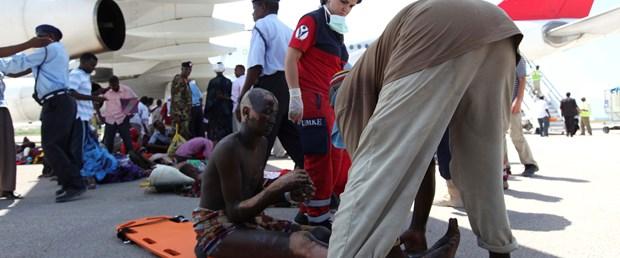 Terör kurbanı Somalililer tedavi için Türkiye'de