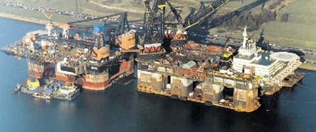 'Thialf' Rumlara doğalgaz aramaya gidiyor